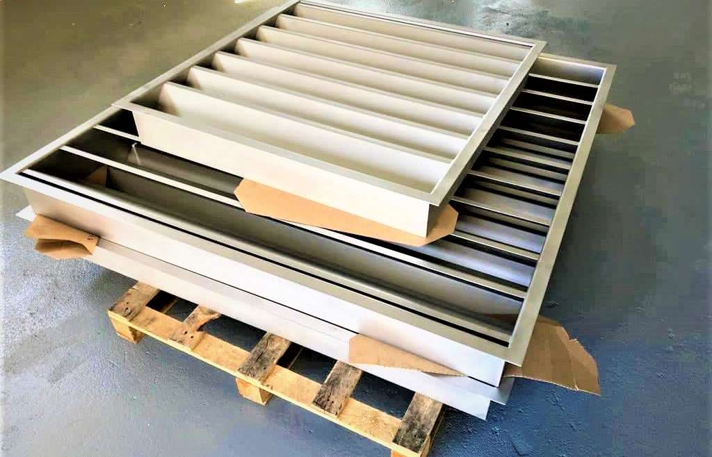 Construction of secondary metal structures